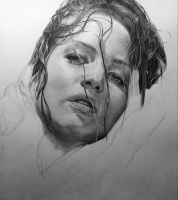 Jennifer Lawrence WIP by TaylorGP