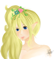 Elf Girl by TheTwistedWonderland