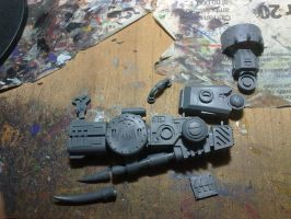 WIP - Looted Riptide (Gun Arm) by Dgs-Krieger