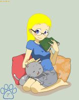 Silent Reading by TOM-CATS