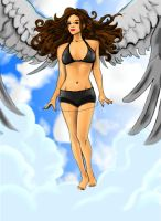 Angel Painting by albonia