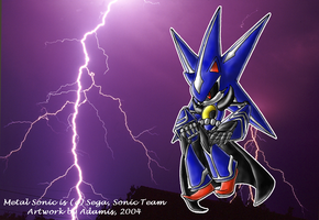 Metal Sonic Heroes version by adamis