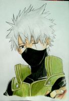 Kakashi Hatake by AjkaSketch