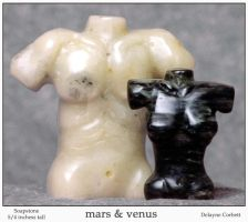 mars and venus by sculptin