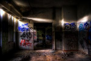 shadow in the darkness by marikaz