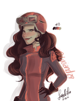 Asami  17-06-2014 by Luciand29