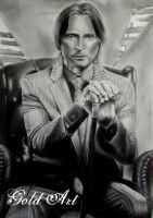 Mr. Gold by ArtGoldArt