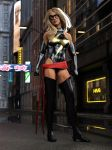Ms Marvel by DahriAlGhul