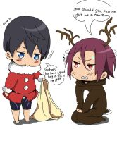 Haru Santa is bad Santa by HaNo0onat