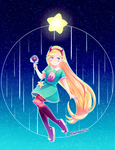 Star Butterfly + Speedpaint by neruteru