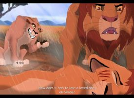 Lion King 4-Kopa's Death by Gashu-Monsata
