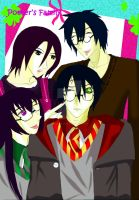 Potters Family (With OC) by SpookyKanna