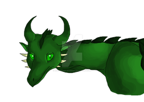 Green Dragon by BeginingoftheJourney
