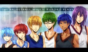 KnB - Generation of Miracles by mikokume-raie