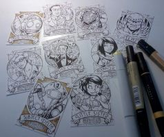 BioShock cards WIP by gb2k