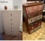 Suitcase Drawer Before/After by Sleepingvelvet