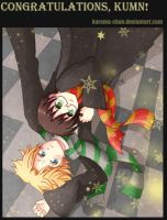 -- 1st place prize: Drarry -- by Kurama-chan