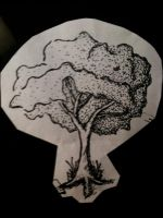 Penned Tree by Shroomkin
