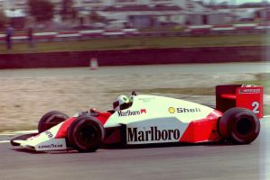 Stefan Johansson (Great Britain Tyres Test 1987) by F1-history