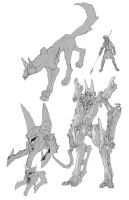 Titanomachy Anubis by TGping