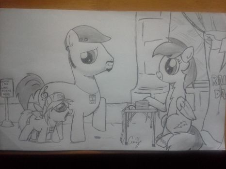 Rainbow Dash Meet and Greet by IndieNotes