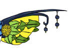Virva's customized fin-accessoire by Master-Kankuro