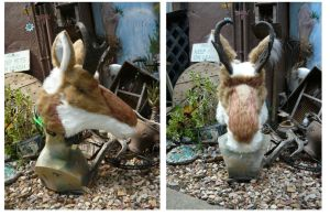 Pinned together Pronghorn by LilleahWest