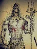 Lord Shiva by charizmacaster77