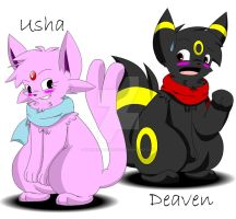 Usha And Deaven by Zander-The-Artist