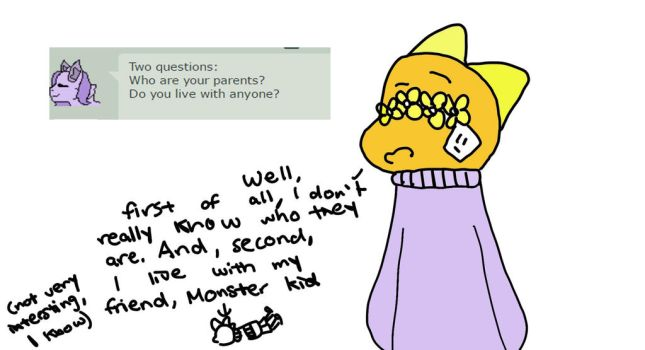 wow so many personal questions for flower kiddo by WhizpopDrawer
