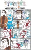 The Bad Guy Conglomerate Comic Episode 7 by Strawberrylightning