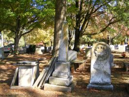 Autumn Cemetery 27 by DKD-Stock