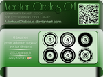 Vector Circles brush pack 04 by MortuusDiabolus