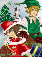 KH Christmas 2009 by kimurei