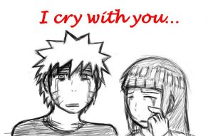 I cry with you. Naruhina by Shadow-chan15