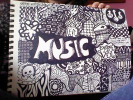Band Zentangle by Proud2BeAFallenAngel