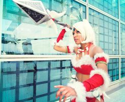 Snow-Bunny Nidalee by SNTP