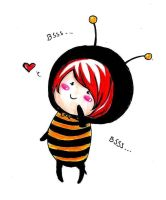 Little Chibi Bee by SpringSnowflakes