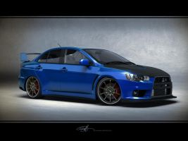 Mitsubishi Evolution X Tuned by NasG85