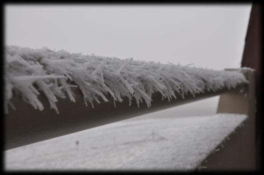 Frozen Hand Rail.. by ScorpioX1029X