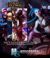 Pack League of Legends piltover Renders by HBDescargas