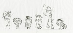 Invader Zim Clothing by zolofft1215