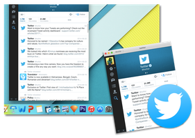Twitter for OS X Yosemite Revision by Aviatorgamer
