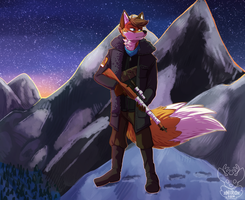 Patrolling in the cold by xNIR0x