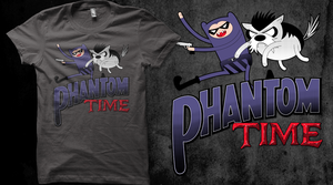 Phantom Time T-Shirt by entangle