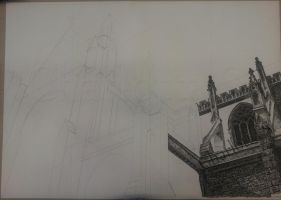 WIP Cathedral by AiSolare