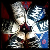 Converse by AlliNeedIsLove