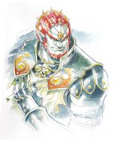 Ganondorf sketch by ai-eye