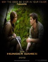 Katniss and Gale by fillesu96