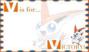 V is for Victory Banner by mythicdragon30